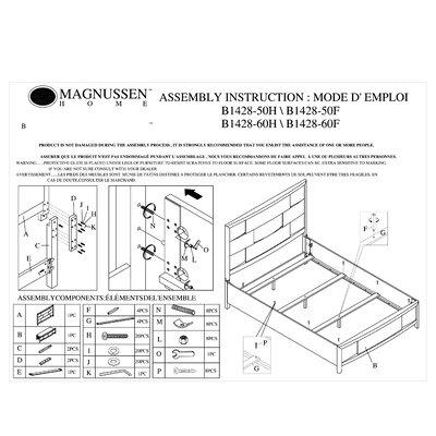 Magnussen furniture allmodern - Nova bedroom furniture collection ...