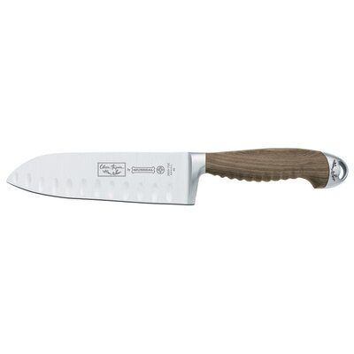 "Mundial Olivier Anquier 7"" Santoku Knife with Hollow Edge"