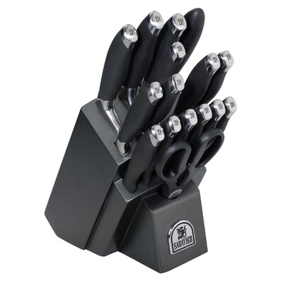 Sabatier 17 Piece Cutlery Block Set