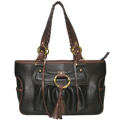 Amour Shoulder Tote in Black