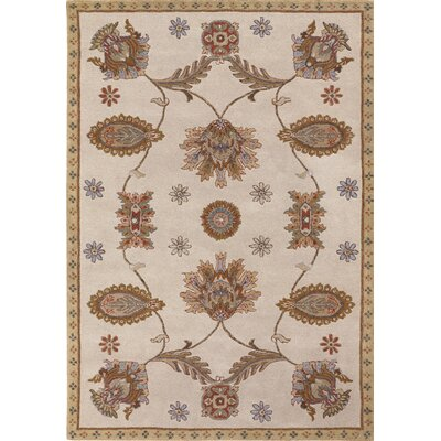 Couristan Dynasty Tan All Over Persian Vines Rug