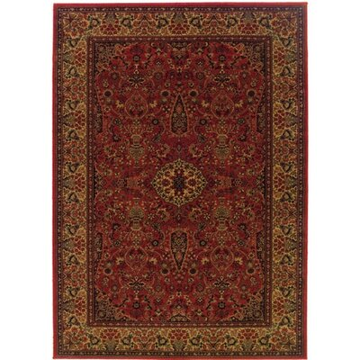 Couristan Everest Ardebil/Crimson Rug