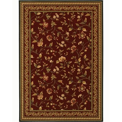 Couristan Royal Luxury Winslow Bordeaux Rug