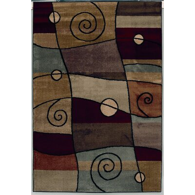 Shaw Rugs Accents Percussion Ebony Rug