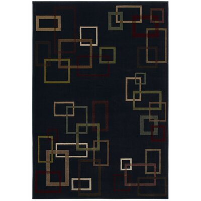 Shaw Rugs Inspired Design Cubist Black Rug