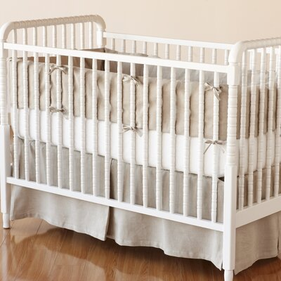 Coyuchi Linen Breeze Crib Skirt