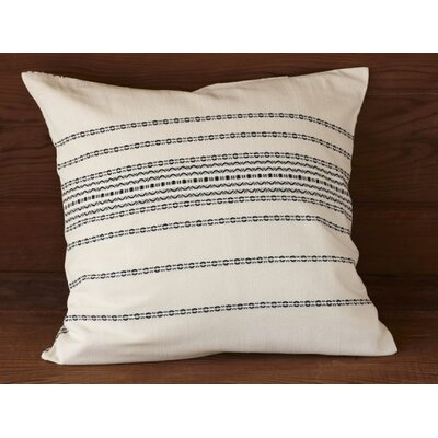 Coyuchi Rippled Stripe Sham