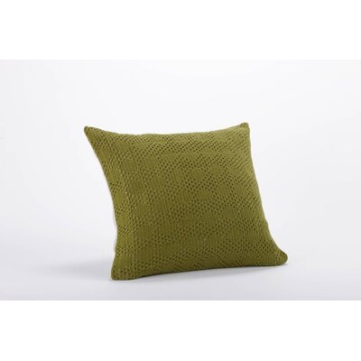 Coyuchi Diamond Crochet Linen Organic Cotton Decorative Pillow