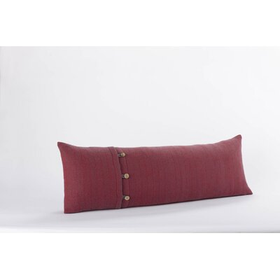Coyuchi Herringbone Organic Wool Decorative Pillow