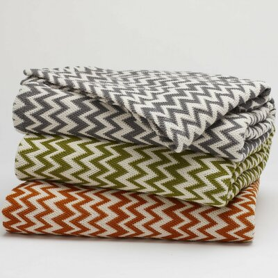 Coyuchi Zigzag Throw Coverlet