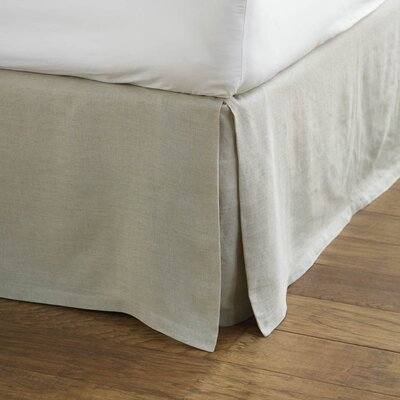 Coyuchi Relaxed Linen Bed Skirt