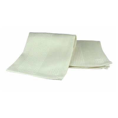 "MU Kitchen MUbamboo 12"" x 12"" Dishcloth in Natural (Set of 2)"