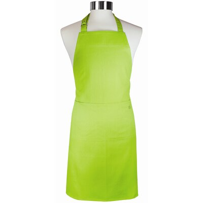 MU Kitchen MUincotton Full Apron in Grass