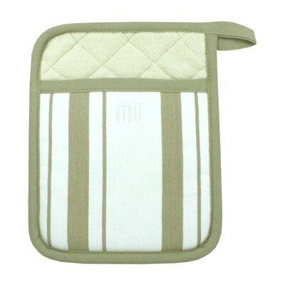 MU Kitchen MUincotton Potholder in Sand Stripe (Set of 2)