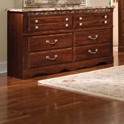 Standard Furniture Triomphe 6 Drawer Dresser