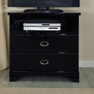 Meridian 2 Drawer Media Chest