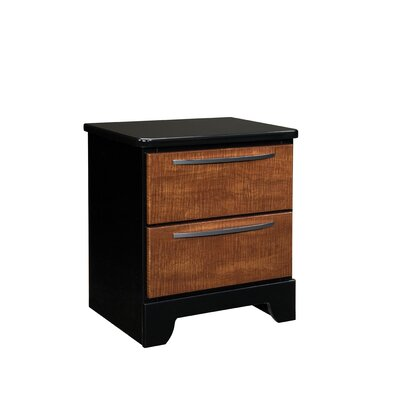 Standard Furniture Eclipse 2 Drawer Nightstand