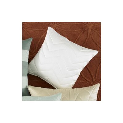 Wildcat Territory Marina Chevron Quilted Decorative Pillow