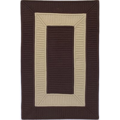 Colonial Mills Tournament Chocolate/Linen Rug