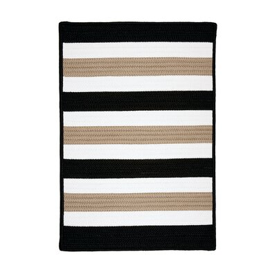 Colonial Mills Portico Sharp Black Rug