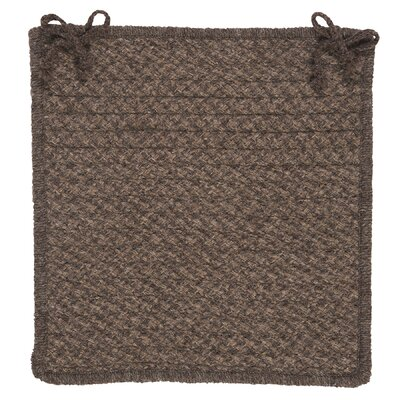Colonial Mills Natural Wool Houndstooth Chair Pad