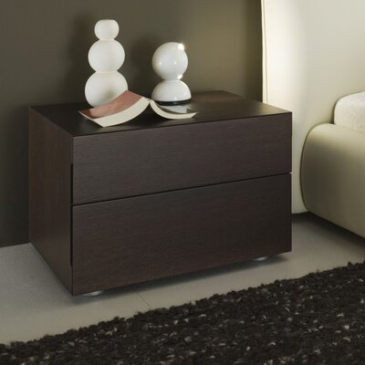 Rossetto USA Sound 2 Drawer Nightstand