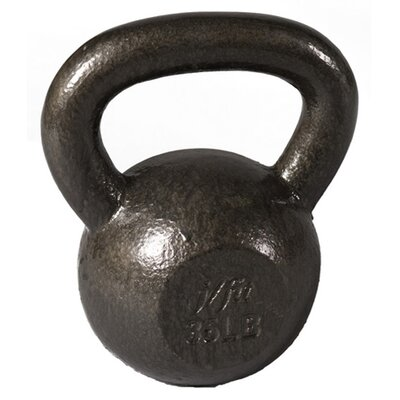 J Fit 35 lbs Cast Iron Kettlebell