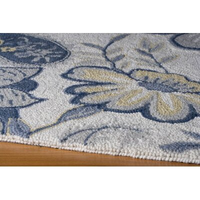 Momeni Spencer Ivory/Blue Rug