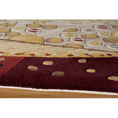 Momeni New Wave Burgundy Rug