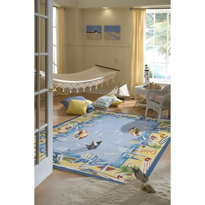 Momeni Coastal At The Beach Novelty Rug