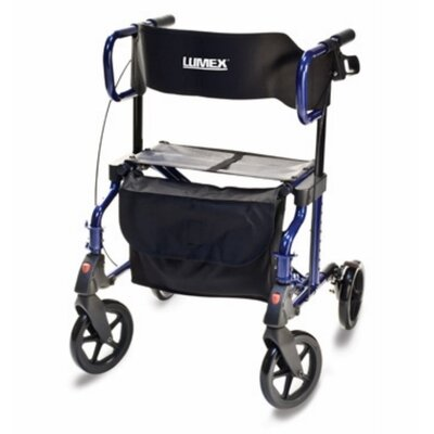 Lumex Hybrid Rollator Transport Chair