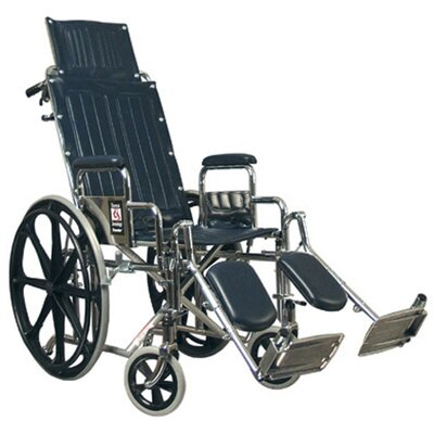 Everest &amp; Jennings Traveler Recliner Wheelchair