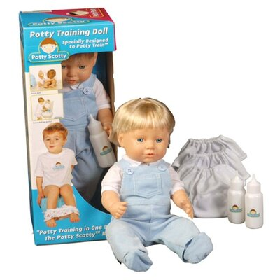 Mom Innovations Potty Training in One Day - The Potty Scotty Doll