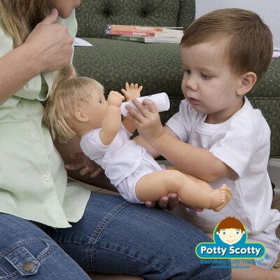 Mom Innovations Potty Training in One Day - The Potty Scotty Kit