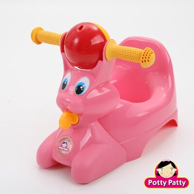Mom Innovations The Potty Patty Riding Potty Chair in Pink