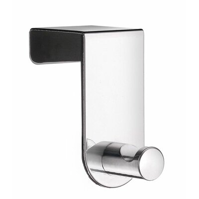 Smedbo Beslagsboden Door Hook in Polished Stainless Steel