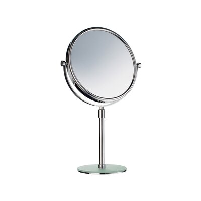 Smedbo Outline Freestanding Shaving / Makeup Mirror with Acrylic Plate