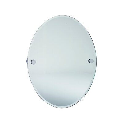 Smedbo Loft  Oval Beveled Edge Mirror