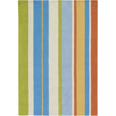 Surya Rug Chic Multicolored Stripes Rug