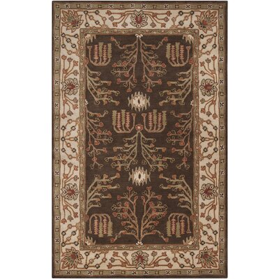 Surya Rug Bungalo Dark Brown Rug