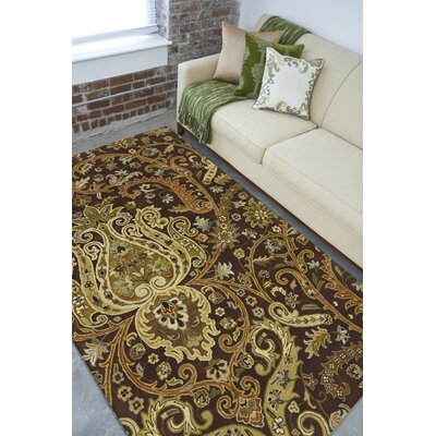 Surya Rug Ancient Treasures Chocolate Rug