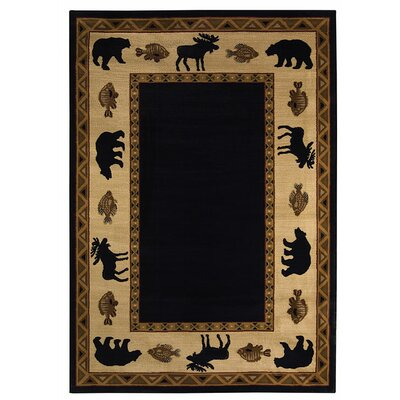 Cottage Grove Ebony Novelty Rug