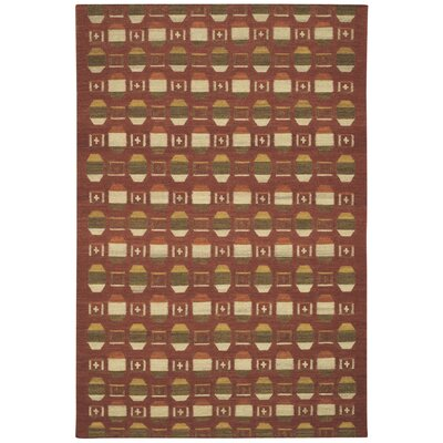 Capel Rugs Davenport Red Rug