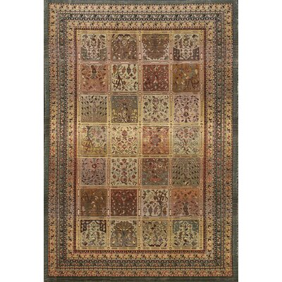 United Weavers of America Tapestries Market Square Beige/Black Rug