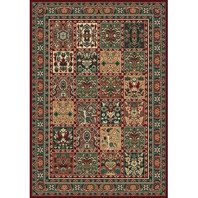 Manhattan Woodmere Burgundy Rug