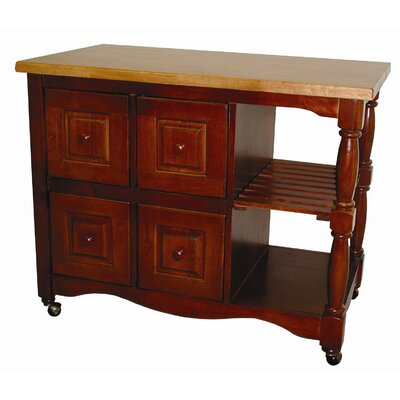 Sunset Trading Sunset Selections Kitchen Cart