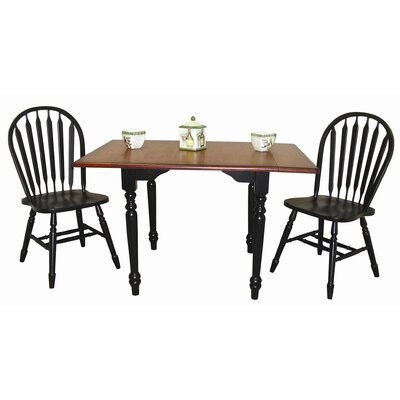 Sunset Trading Sunset Selections 3 Piece Dining Set