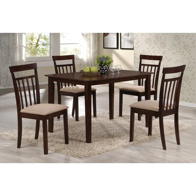 Sunset Trading Echo 5 Piece Dining Set