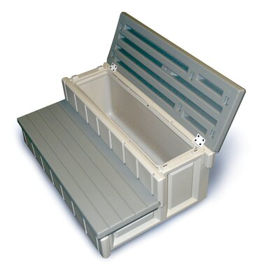 Leisure Accents 36&quot; W Storage Spa/Patio Step