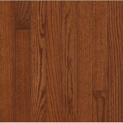 "Armstrong Somerset Strip 2-1/4"" Solid Oak in Large Benedictine"